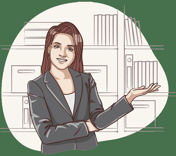 Lisa, die digitale Assistentin der Deutsche Teilkauf erklärt den Immobilien-Teilverkauf und das absolut sichere Nießbrauchrecht