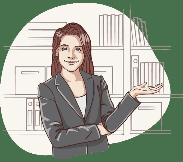 Lisa von der Deutschen Teilkauf begrüßt Sie im Angebots-Prozess um ein kostenfreies Angebot für Ihren Immobilien-Teilverkauf anzufertigen.