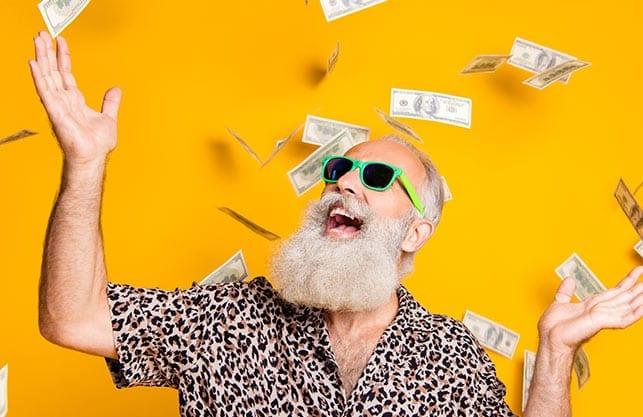 Teilverkauf Senior Rentner Geld Immobilie