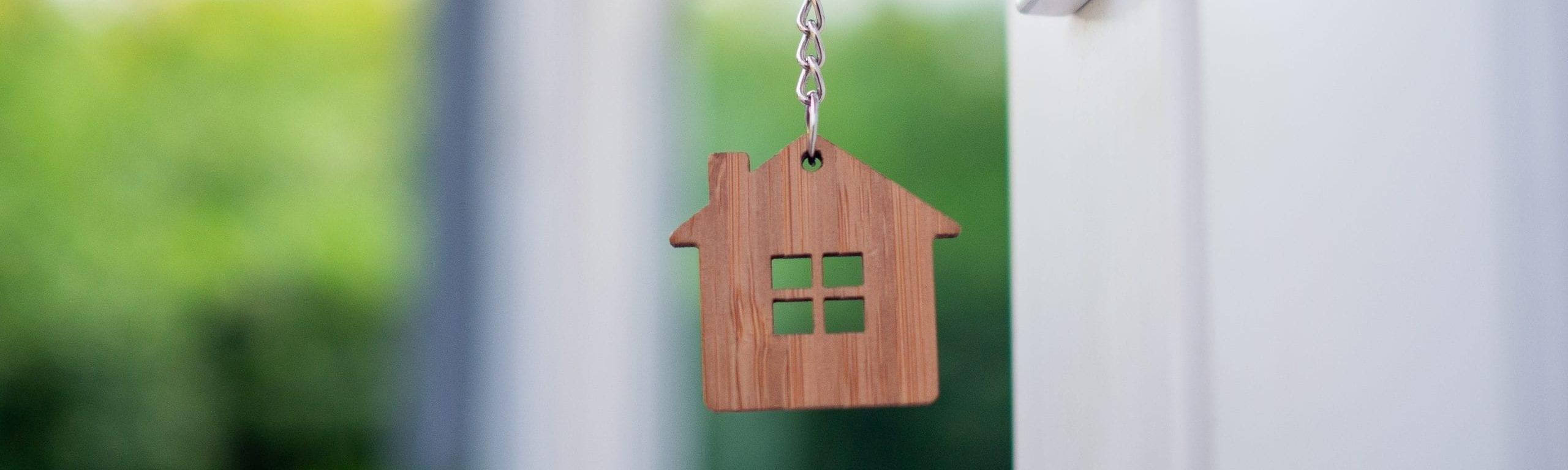 Schlüssel zum Eigenheim