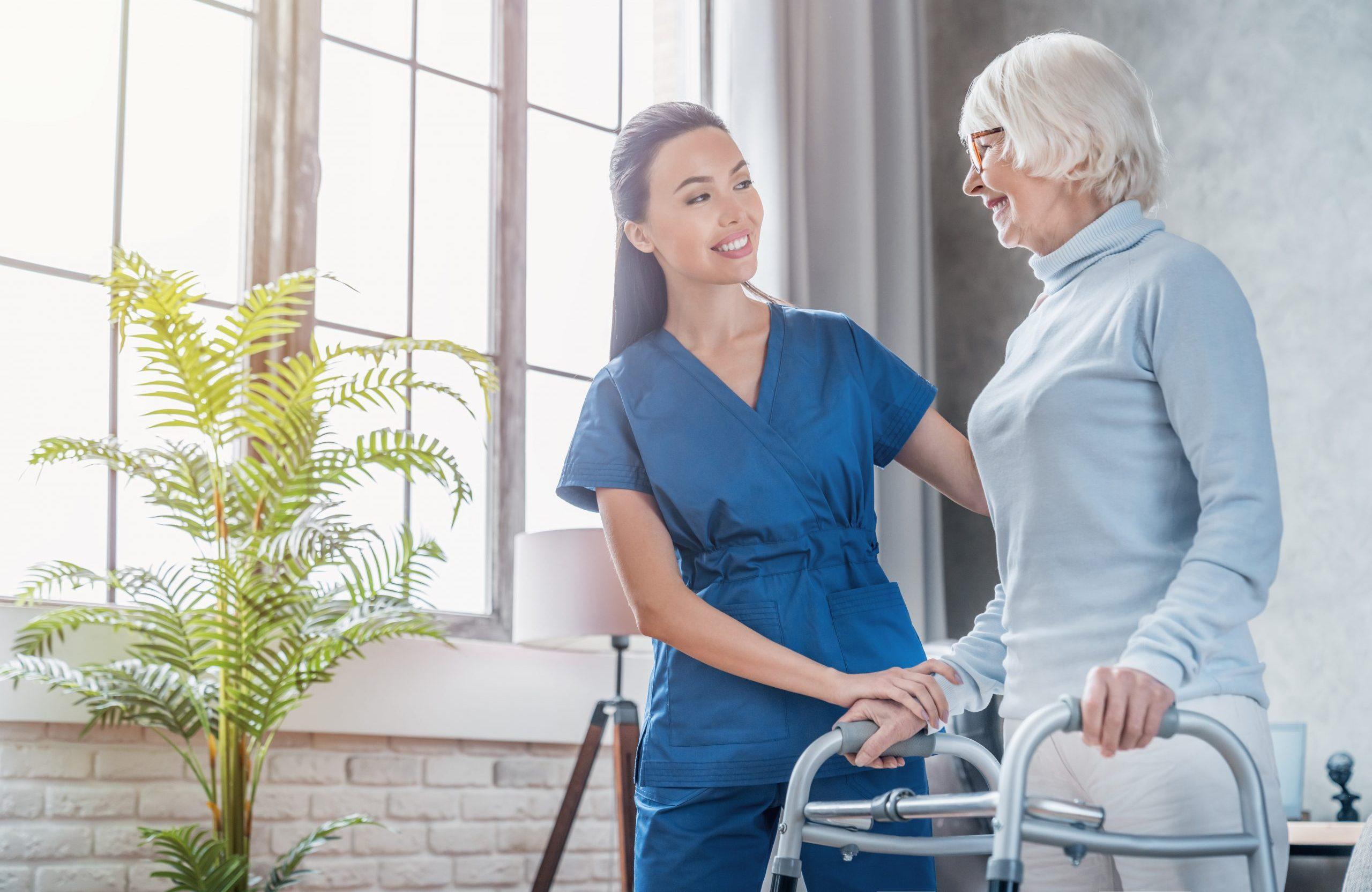 Wohnen im Alter – Hilfeleistungen in den eigenen vier Wänden